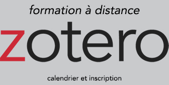 Atelier documentaire Zotero 2020 - à distance (Actu)